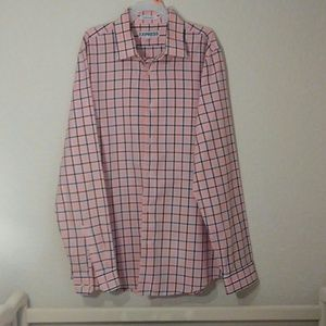 Express men's button up shirt, Size M